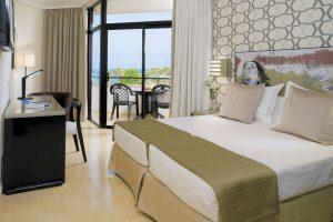 Hotel H10 Conquistador in Tenerife zeezicht kamers